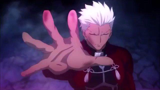 Fate/stay night[UBW] アーチャーVSランサー