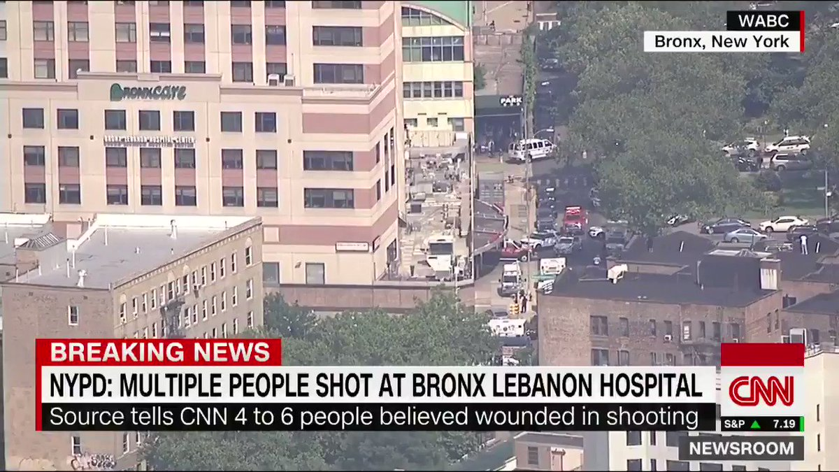 JUST IN: Shooter deceased at Bronx hospital, NYPD spox says