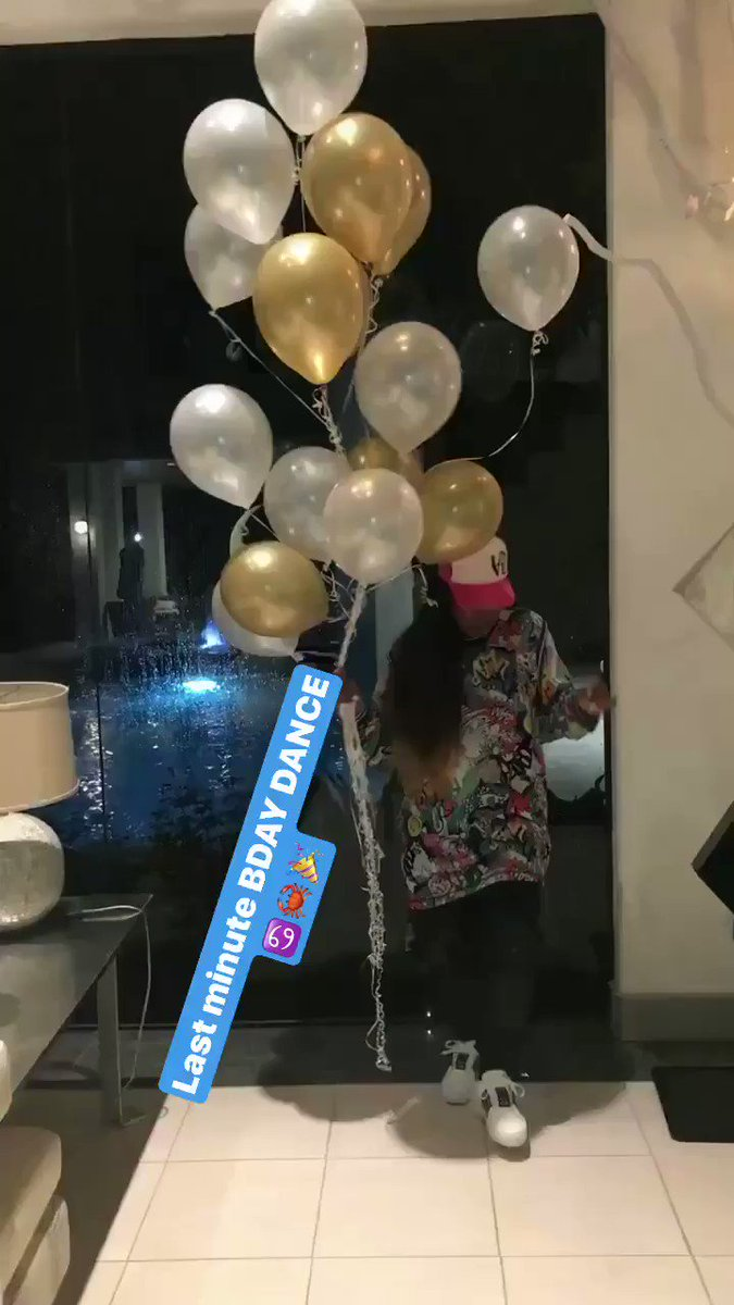 Last Minute BDAY DANCE ♋️�������� https://t.co/wvho3AIdsO