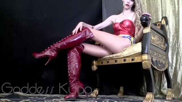 Femdom ass licking slave