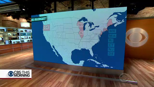 Nine out of 46 states missed Saturday's deadline to approve new budgets: