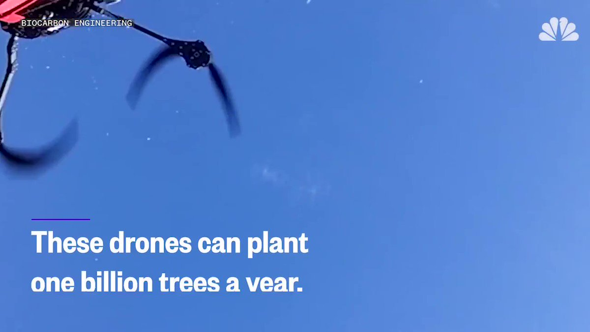 This drone is on a mission to plant one billion trees in a year via @NBCNewsMACH