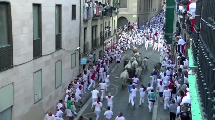 Two Americans were gored while running with the bulls in Spain.