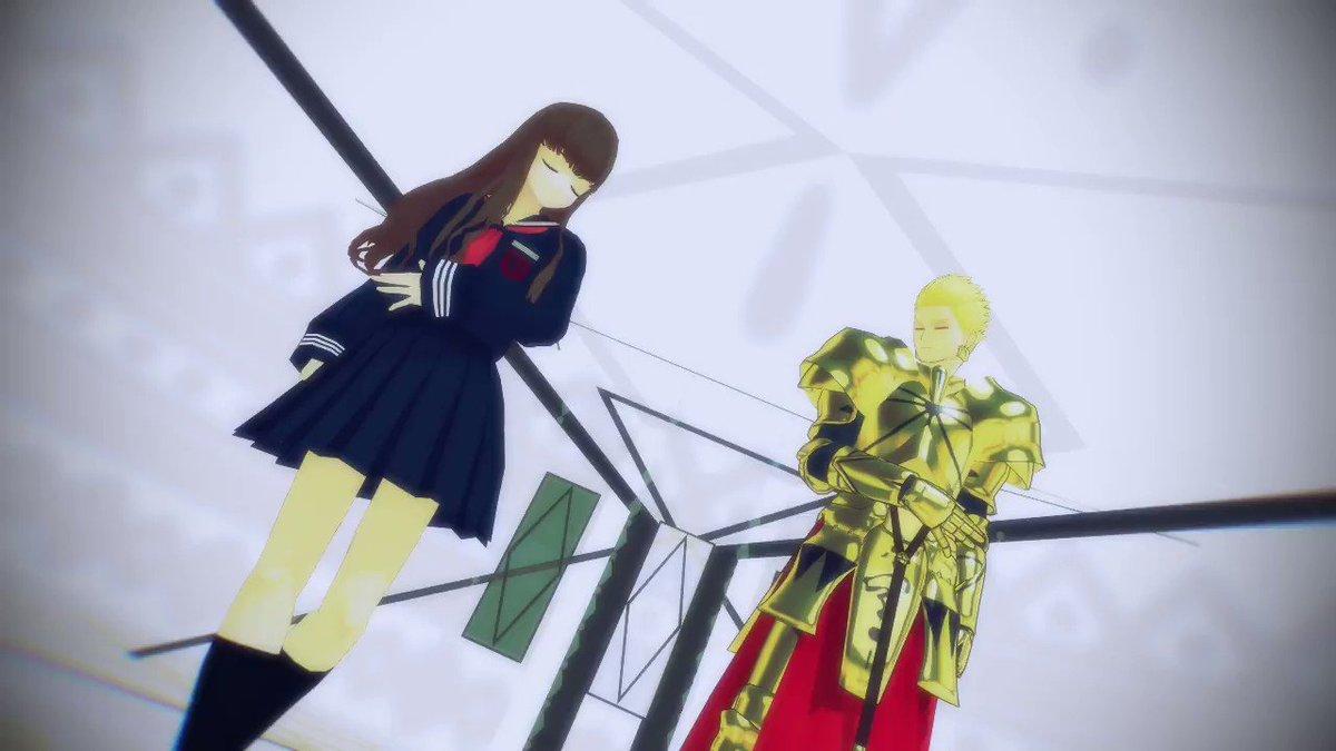 【Fate/MMD】もう後戻りできない世界ザビ子と英雄王なら一騎当千ですとも!お借りした物は以下のリプライからご覧くださ