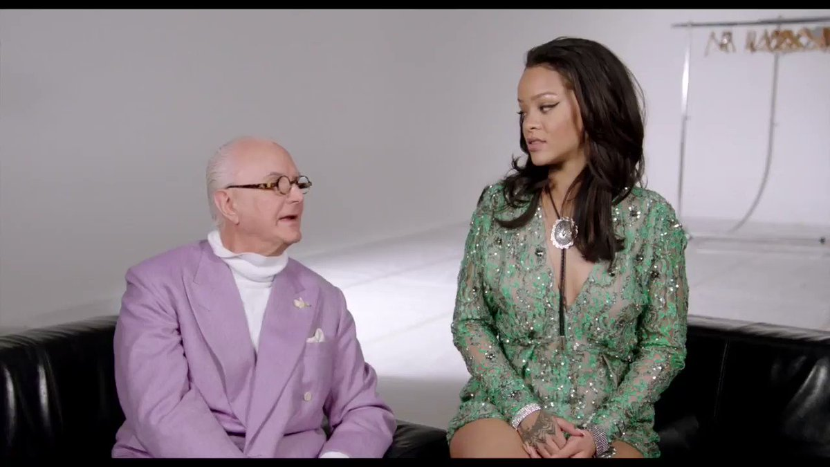 i love @Rihanna's laugh so much ��  via @ManoloBlahnik @ManoloFilm doc trailer: https://t.co/EW2mdpfKHb #rihanna https://t.co/xgVIWDNCy9