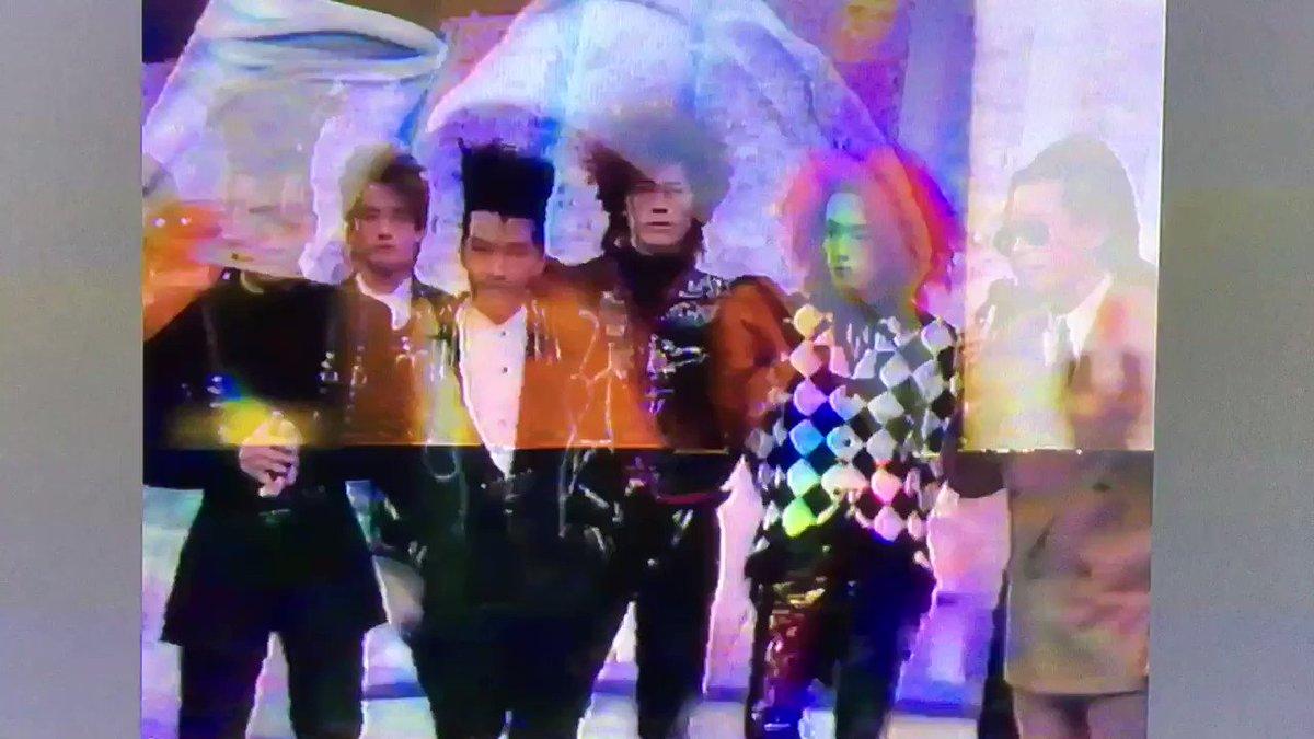 1990.01.19 Mステ「HURRY UP MODE → 悪の華メドレー」で出演時のエンディングトークタモリ「鼻のと