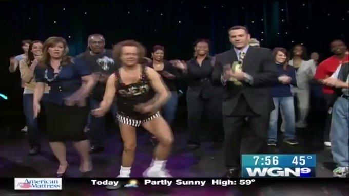 Happy 69th Birthday Richard Simmons! to when you visited in 2008
