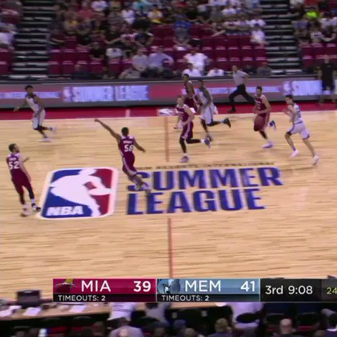 Wayne Selden Jr. knows how to get the bench on their feet! #NBASummer https://t.co/JlYuFDmJMS
