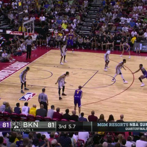 Alex Caruso just did THAT! #NBASummer https://t.co/OuI20JsoMh