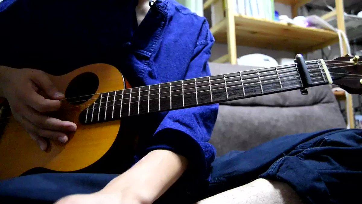 """敬愛する凛として時雨の""""秋の気配のアルペジオ""""を頑張って弾きました。右手が忙しくて頭こんがらがってくる笑"""