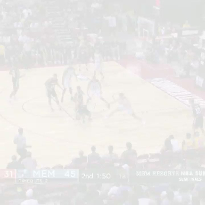 Jake Layman lays down the two-fisted slam! #NBASummer https://t.co/WeTtsJJjRJ