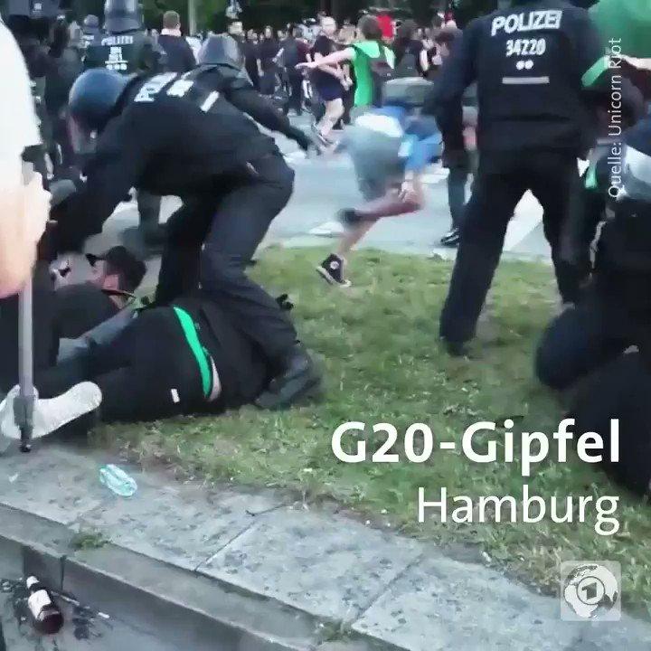 Opfer von körperlicher Gewalt durch Polizisten haben es in Deutschland schwer. Nicht erst seit #G20. #Polizeigewalt https://t.co/Sc9wB21Uqx