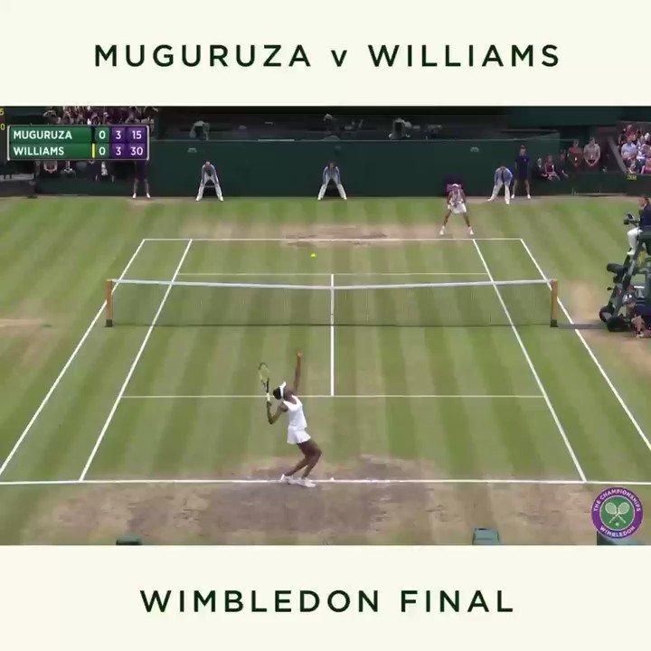 Just a week ago, @garbimuguruza powered her way to a first Ladies' Singles title...  #Wimbledon https://t.co/PS9n9Giye2