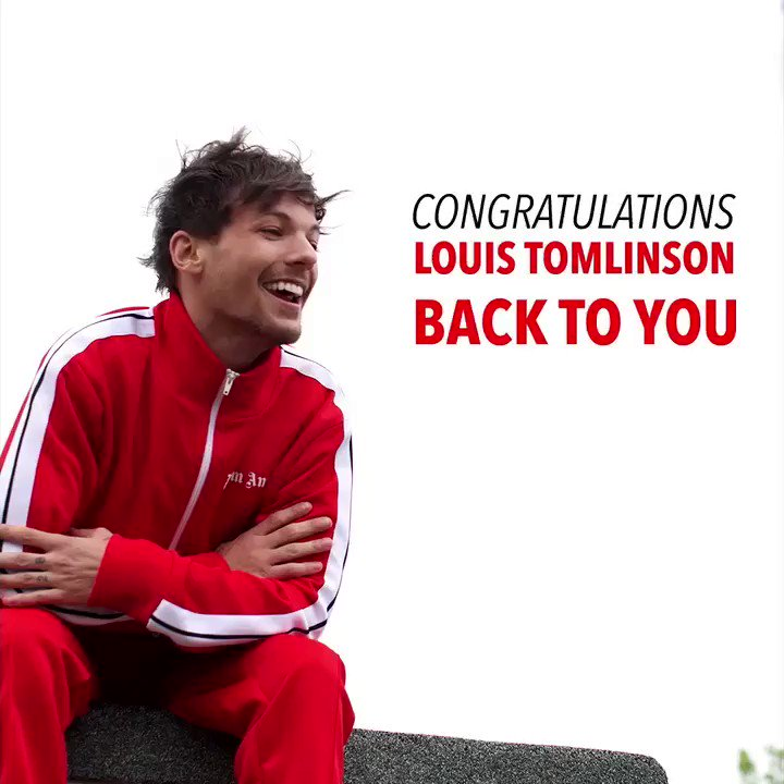 Congrats to our @Louis_Tomlinson for his new single #BackToYou being the #1 most added at Pop radio this week! ���� https://t.co/XEw0Z2vN1W