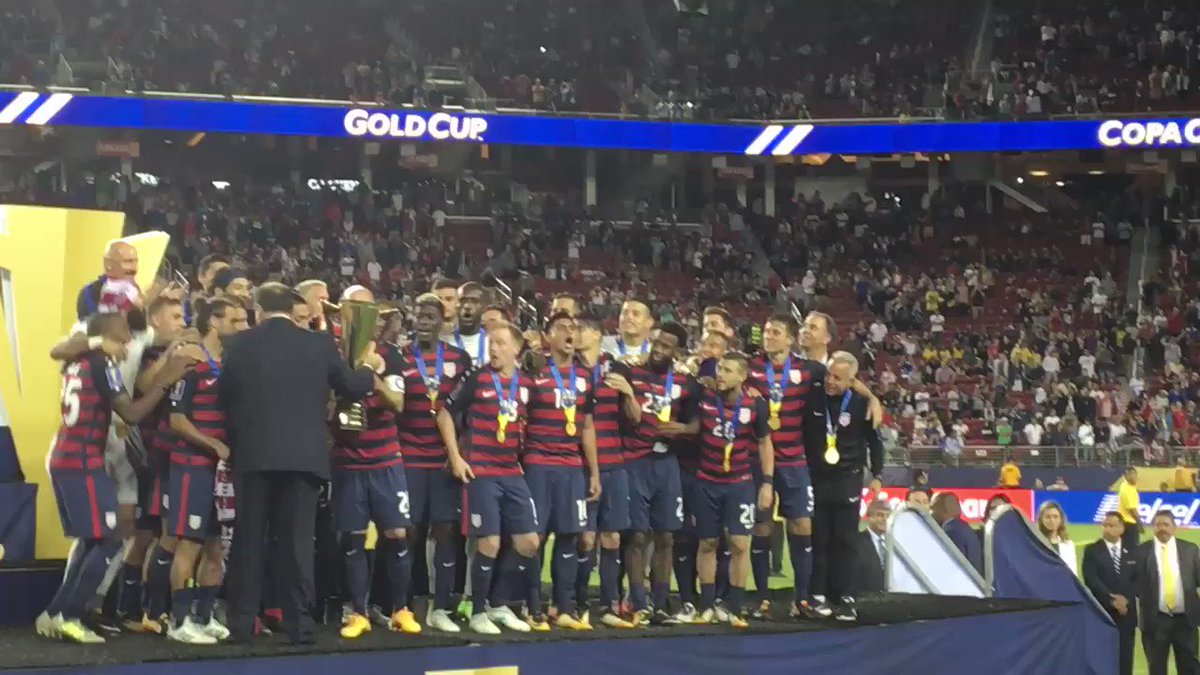 CHAMPIONS! #GoldCup2017 ������ https://t.co/z3zRrZMXDP