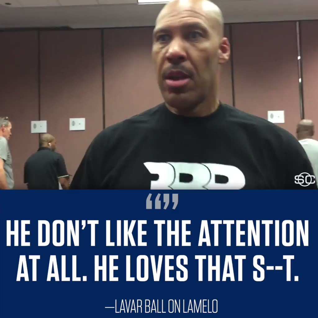 LaMelo doesn't mind the massive crowds at his games.