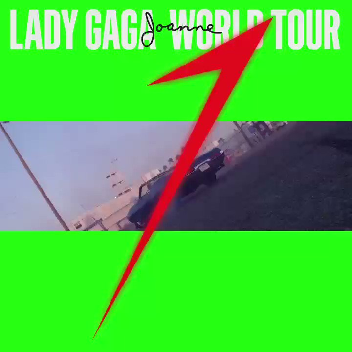 LADY GAGA JOANNE WORLD TOUR starts in 3 days #JOANNEworldtour #JOANNE https://t.co/qh4cQSMlmF