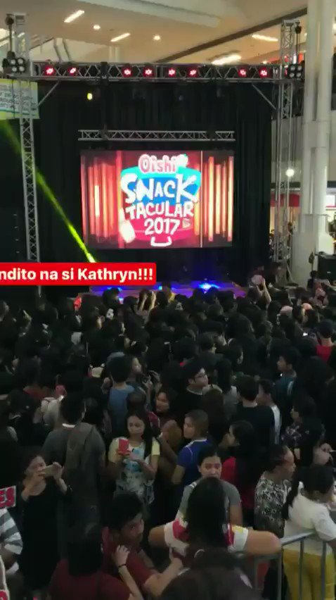 RT @immarygracee: Everyone is waiting for the King and Queen. #BOKQKathNielOishiSnacktacular https://t.co/7TbPCpwRJi