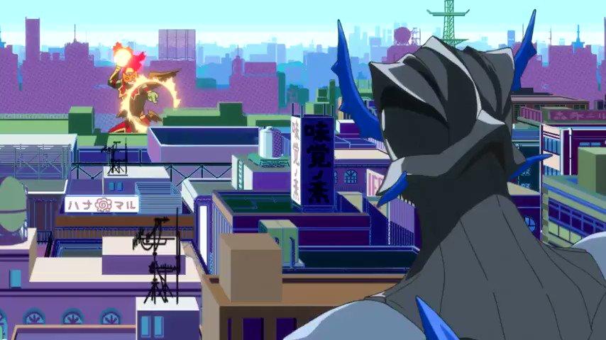Key Animation: Hideki Kakita (柿田 英樹)Anime: Concrete Revoluti