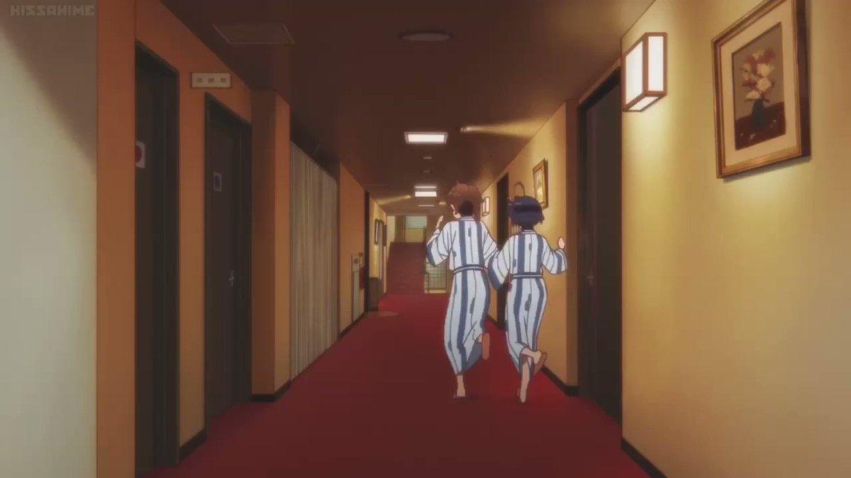 このシーンのキス後の六花がちょこちょこ歩くところが好き#中二病でも恋がしたい