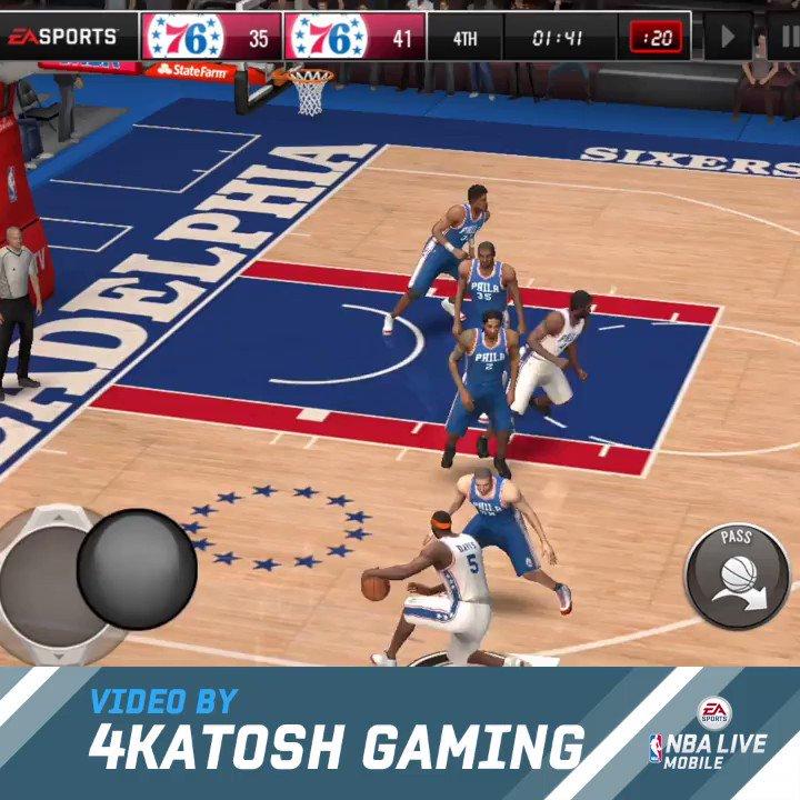nba live mobile basketball review