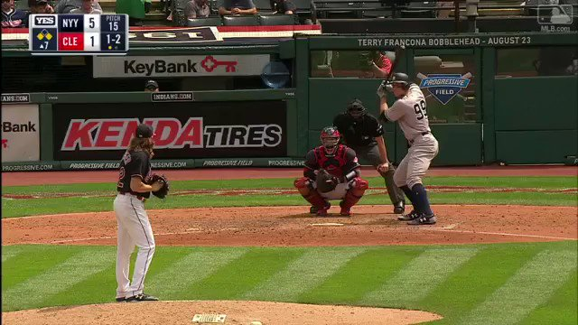 Judge is so strong, even his line drives are home runs. https://t.co/KK5rfU8qJr https://t.co/mVh6ipTs2D