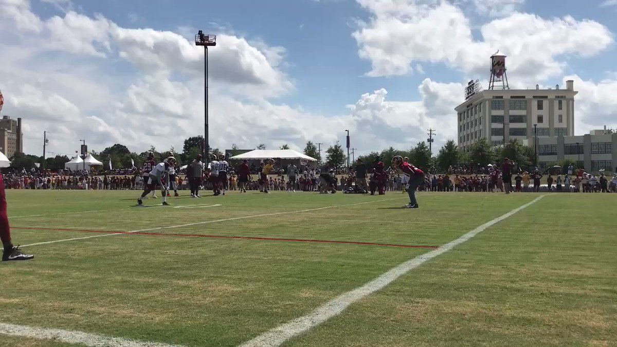 .@Sua_Cravens doesn't quit on plays. #HTTR https://t.co/zR0lMMad87