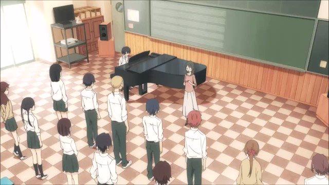 田中くん伴奏で...「ふるさと」笑笑#田中くんはいつもけだるげ