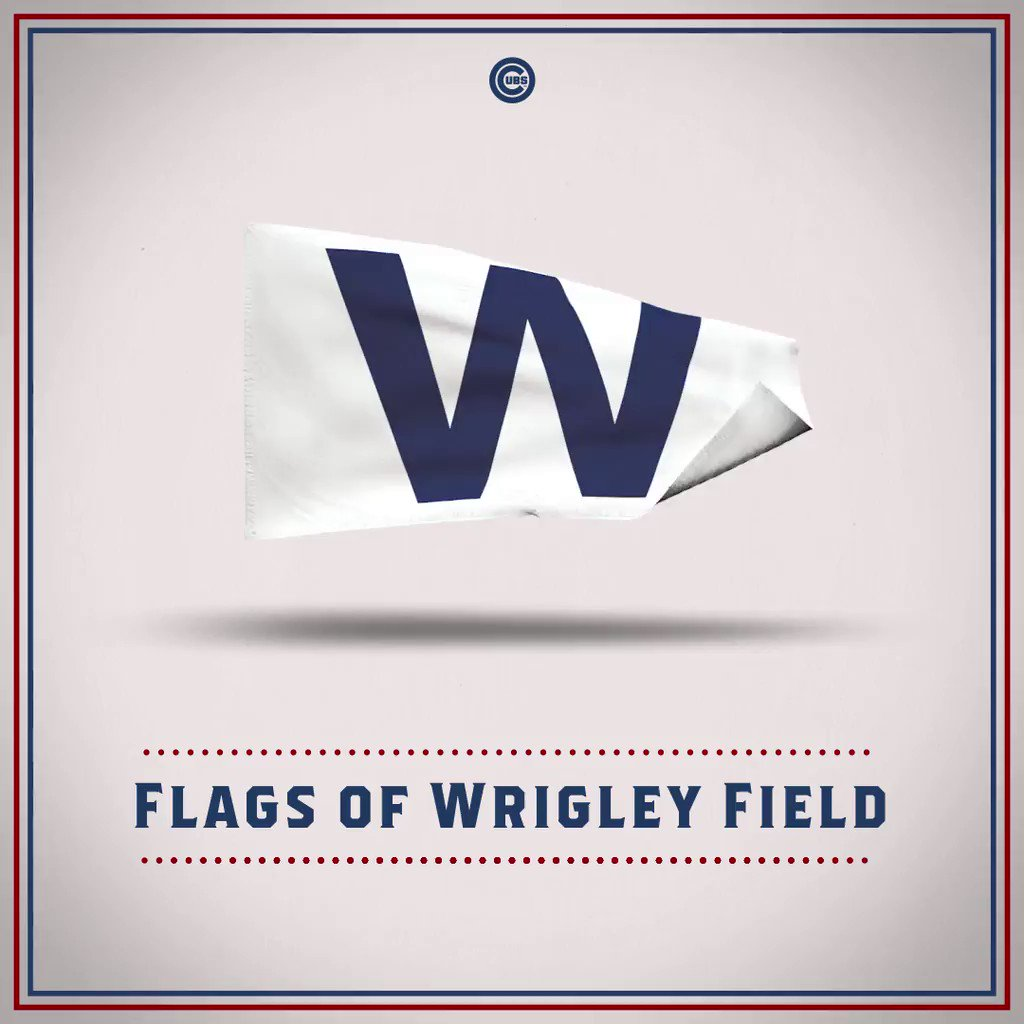 Discover where the inspiration for the newest flags at #WrigleyField came from. https://t.co/f5xCwi5mWf