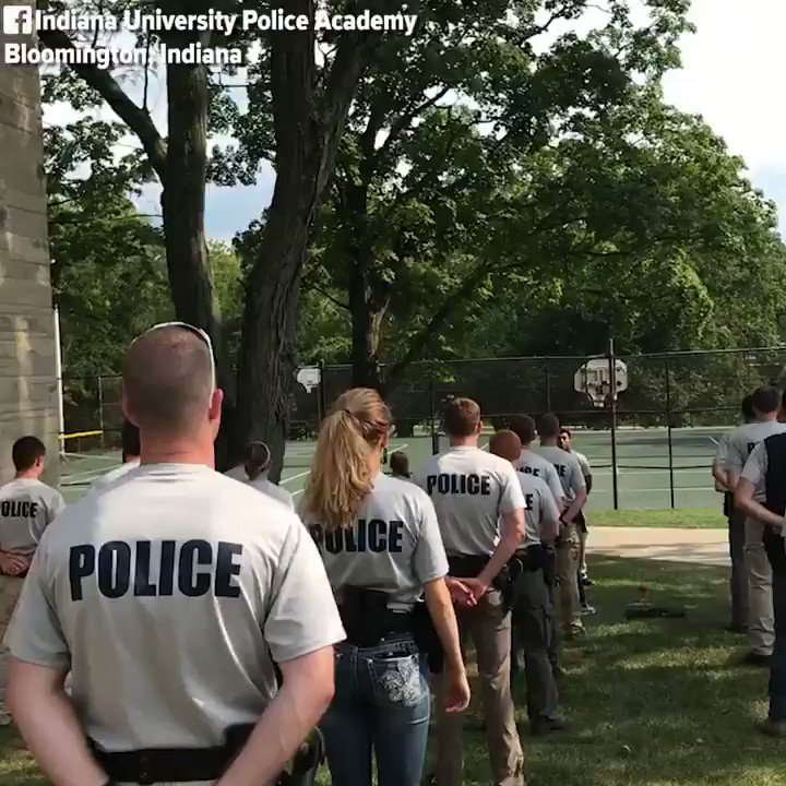 Indiana University Police Academy uses a very special gadget to test cadets' focus https://t.co/QIVK4NL9ac