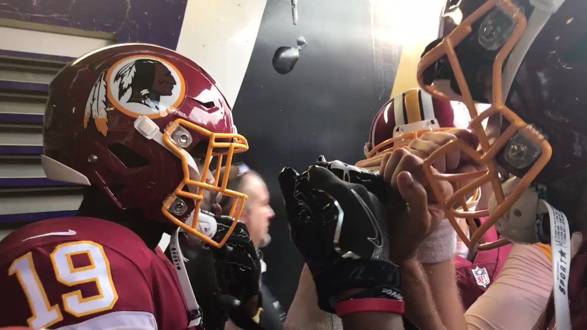 Make plays for one another. #ByAnyMeans #HTTR #WASvsBAL https://t.co/ZVV7s9wvnW