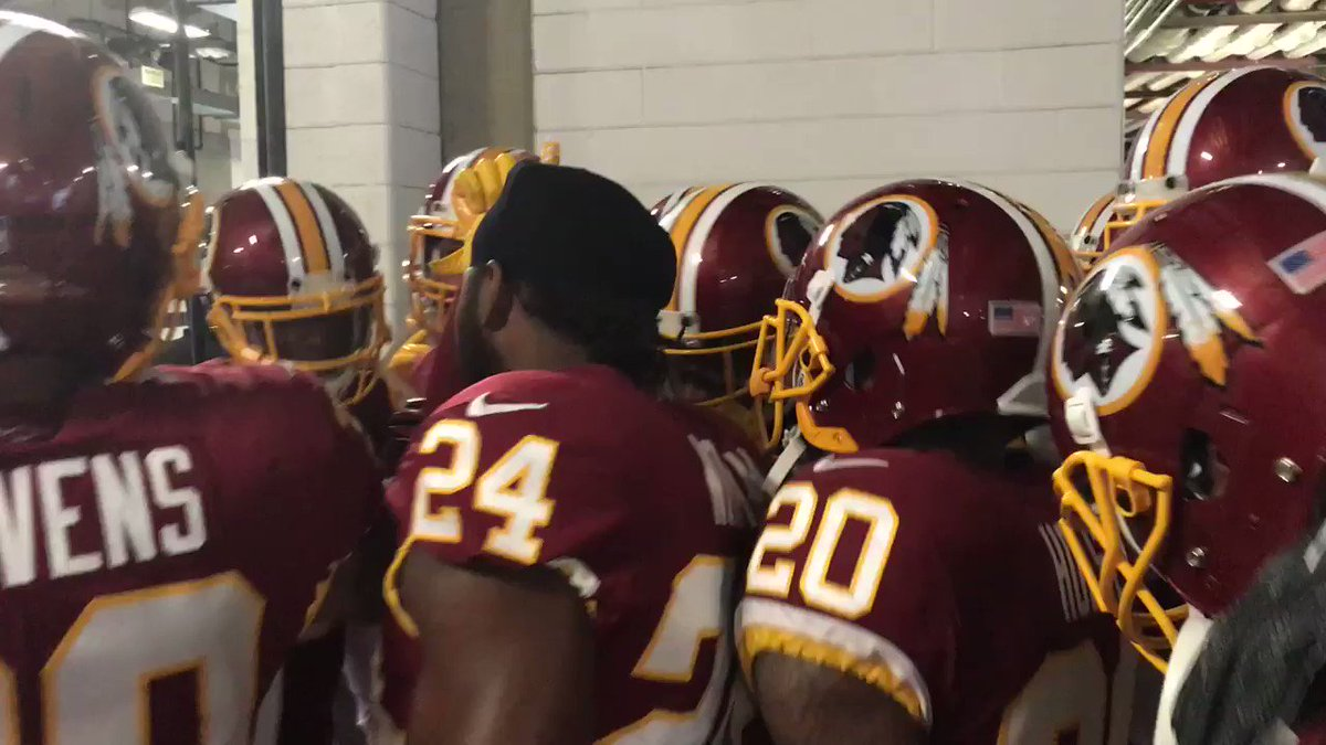 Come together as one to get this W! #HTTR #WASvsBAL https://t.co/rXB2MX6GNI