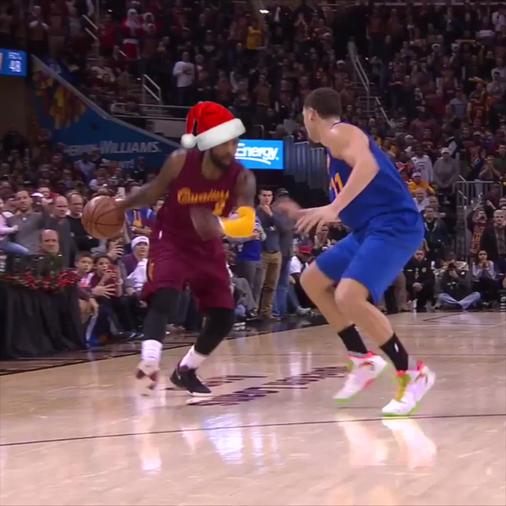 Christmas Day features another NBA Finals rematch.  Hoping Santa gives us another gift like this one. https://t.co/RI4FKxii4O