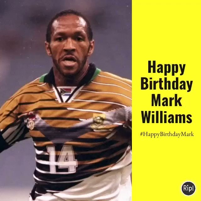 Happy birthday to legend, Mark Williams!