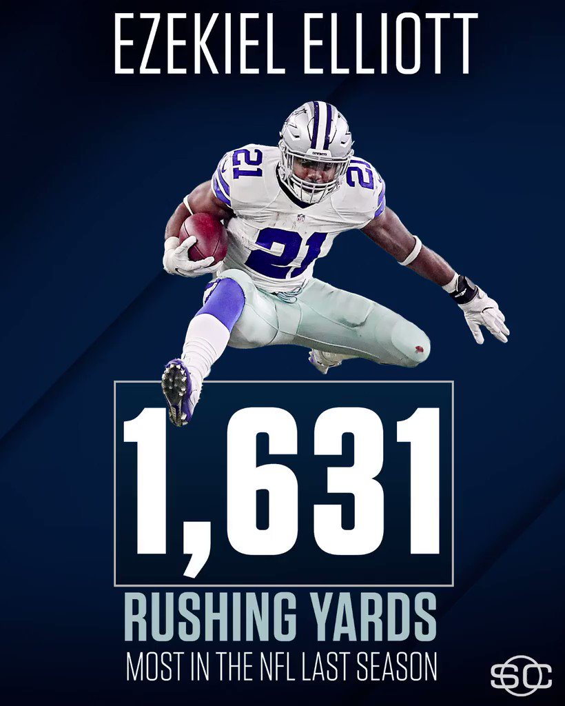 The Cowboys are going to feel Ezekiel Elliott's absence next season. https://t.co/qRiufgLB4N