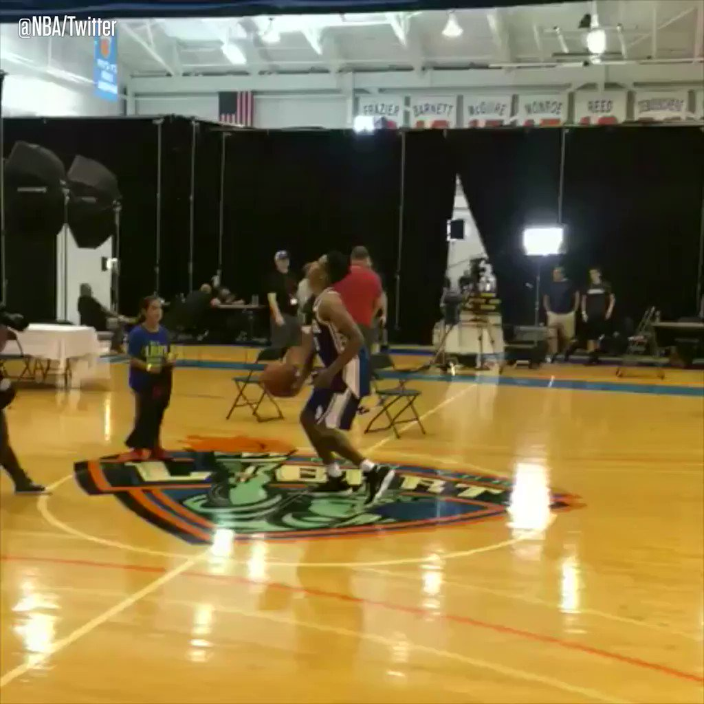 Nothing but net from the No. 1 draft pick. #SCtop10 https://t.co/2C618sHxbu