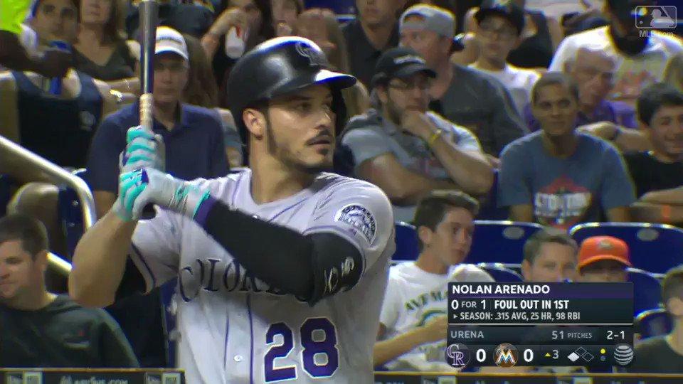1⃣0⃣0⃣ RBIs  Production is Nolan Arenado's middle name. #JustThatGood @nikebaseball https://t.co/n6TGT3VteX