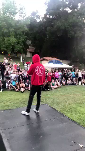Rehearsing with a few friends. #CampMars https://t.co/UJ5q2wcm8R