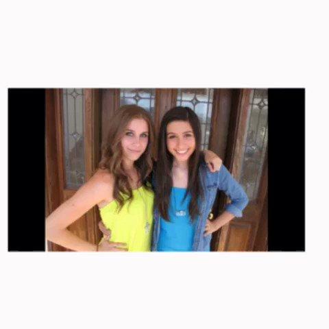 Happy Birthday!!! Lauren and Christina cimorelli luv u girls
