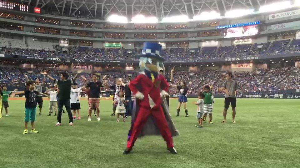 【パ・リーグ親子ヒーロープロジェクトin大阪】踊る怪盗ジョーカー♪#親子ヒーロープロジェクト #bs2017