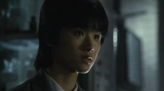 映画『時をかける少女』このシーンの原田知世さんは本当にかわいかった。