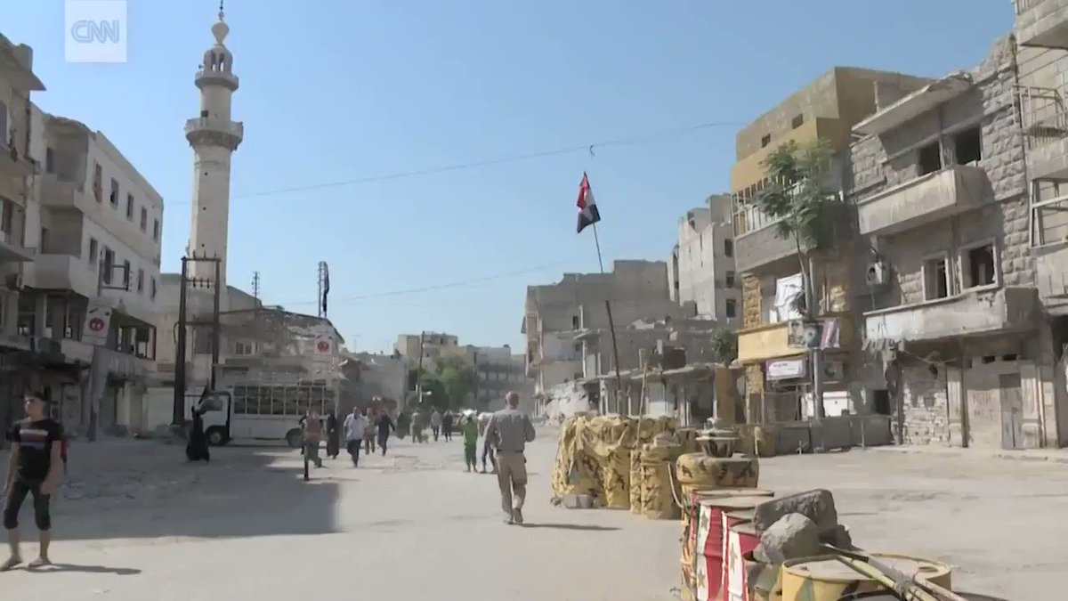What does it look like inside Aleppo now? Residents return to rebuild Syria's shattered city