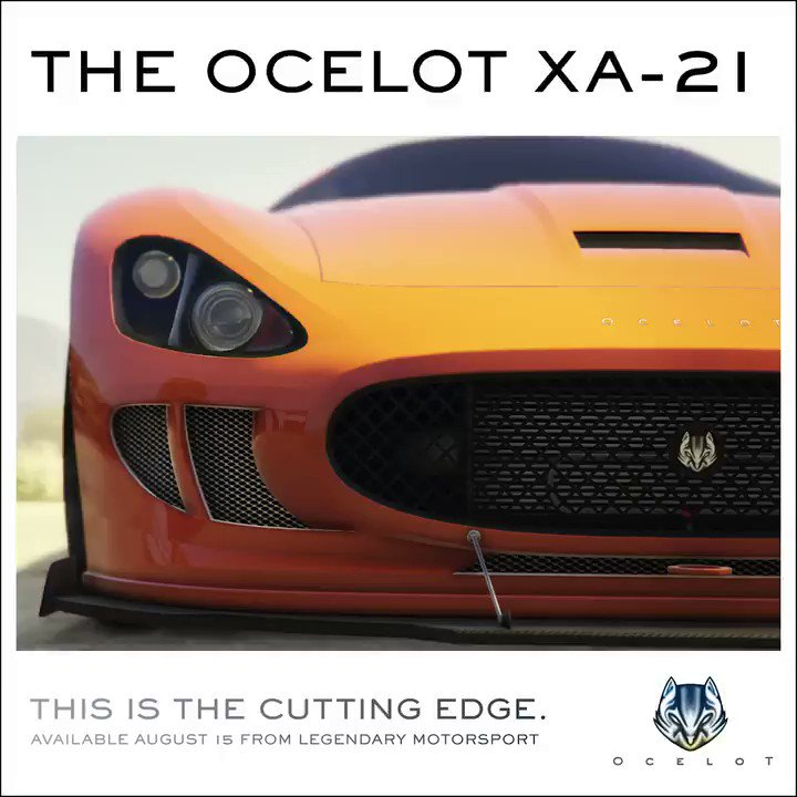 OCELOT XA-21 SUPERCAR  Now Available at Legendary Motorsport in #GTAOnline  https://t.co/z1lCdfwNCC https://t.co/Gg0Zl4YqAX