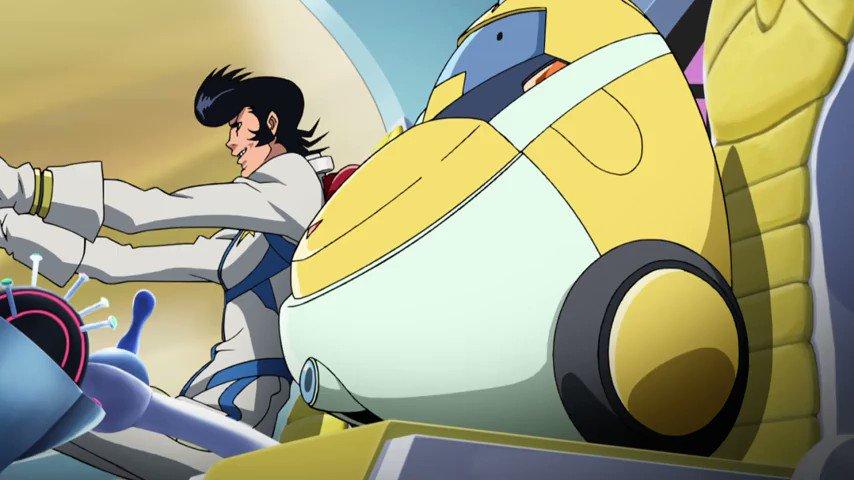 Key Animation: Takahiro Shikama (鹿間 貴裕)Anime: Space☆Dandy (ス