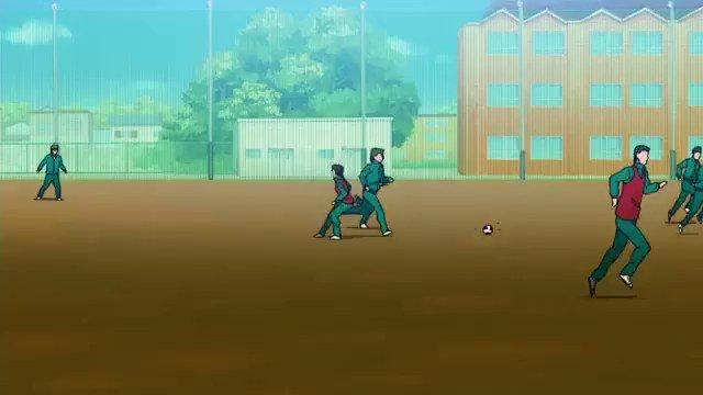 ダイヤのA の2年生がサッカーしてるシーンめっちゃ好きやねんなww#ダイヤのA