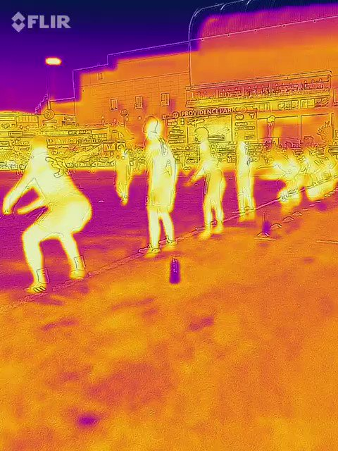 RT @TimbersFC: Thanks to @flir, we can literally see our boys getting warm. #rctid https://t.co/qwmhHFSUA7