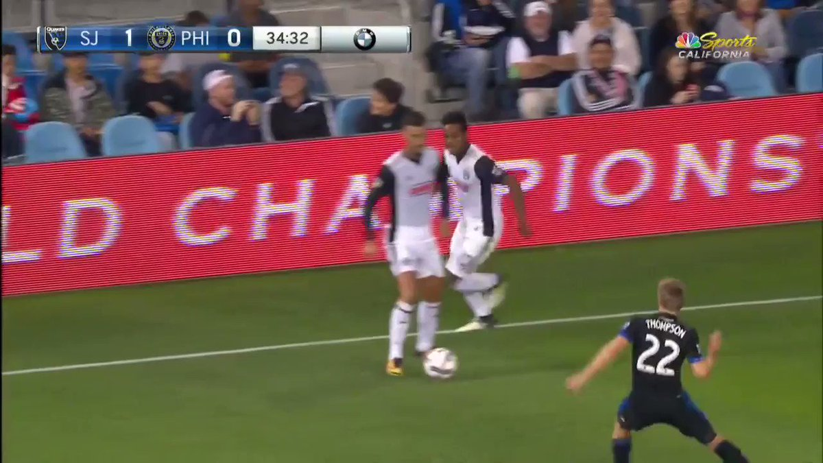 If at first you don't succeed, try again.  Jack Elliott did just that and levels the game! #SJvPHI https://t.co/6yRjiTh5yZ