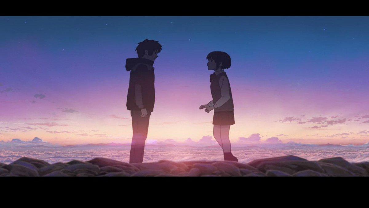 #君の名は。#聲の形#KiminoNawa #YourName#打上花火#打上花火下から見るか横から見るか 終に完成しま