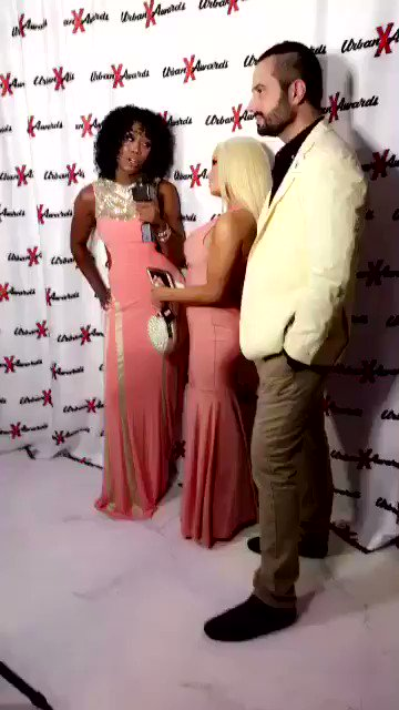 My babes @mistystonexxx killed red carpet interview check out hottie @RomeoManciniXXX https://t.co/P