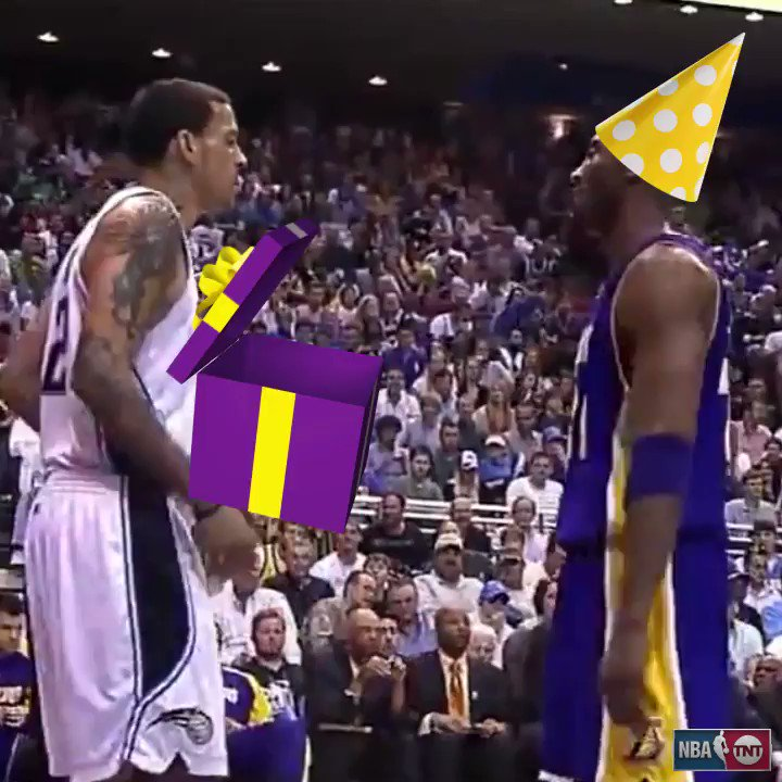 Never forget...   Happy Birthday to the Black Mamba! �� https://t.co/UWY7g30i7p